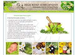 High Road Homeopathy