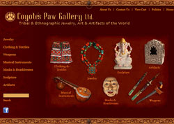 Coyote's Paw Gallery